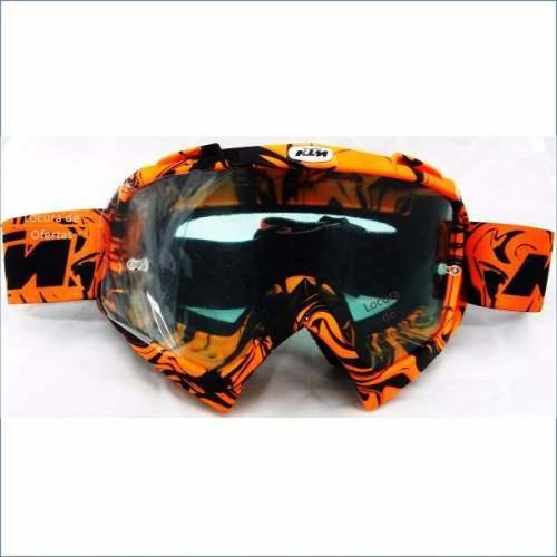 gafas motocross enduro ktm casco protección excelente
