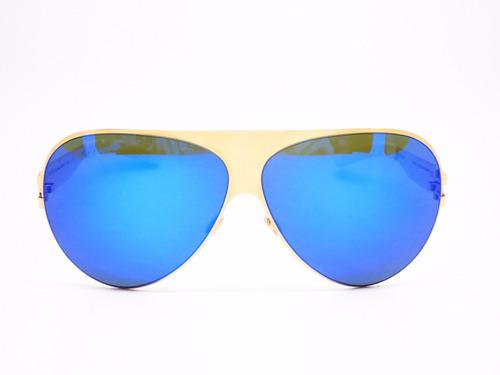 gafas mykita franz azul dorado unisex original envío gratis