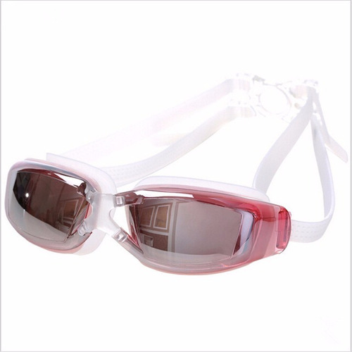 gafas natacion unisex protector uv yd12 color rosado