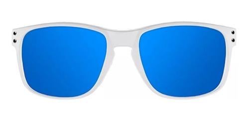 gafas northweek bold matte white- blue hombre mujer