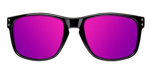 gafas northweek bold shine black- purple hombre mujer