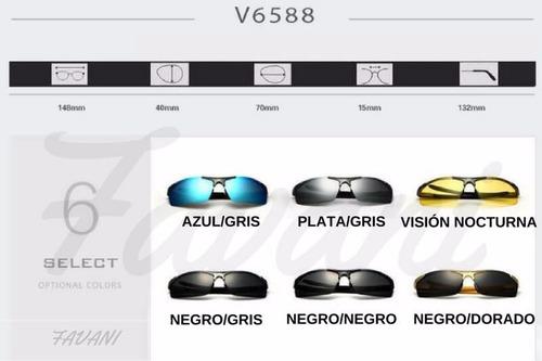 gafas o lentes de sol veithdia(originales) polarizados 6588