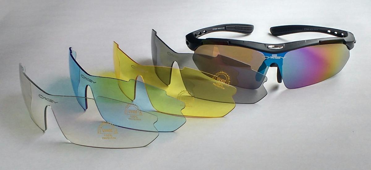 fa38588d142 Gafas Oakley 5 Lentes Intercambiables -   169.900 en Mercado Libre