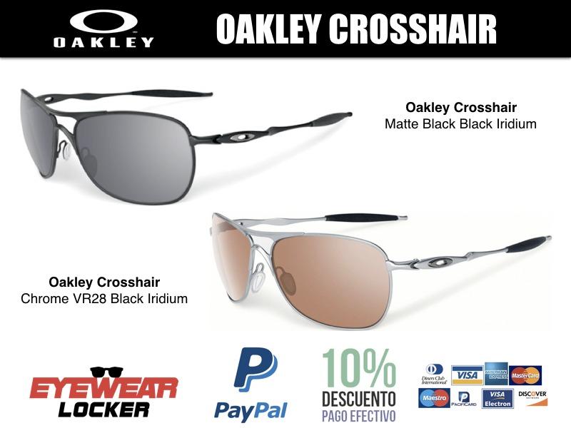 9ae57211be Gafas Oakley Crosshair Polarizadas 100% Originales - U$S 213,00 en ...