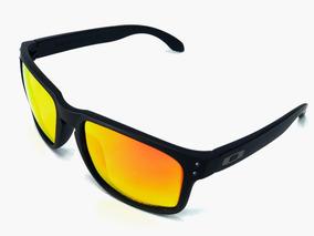 1f0225de46 Gafas Oakley Holbrook 009102-02 Negra Lente Fire Log Plata