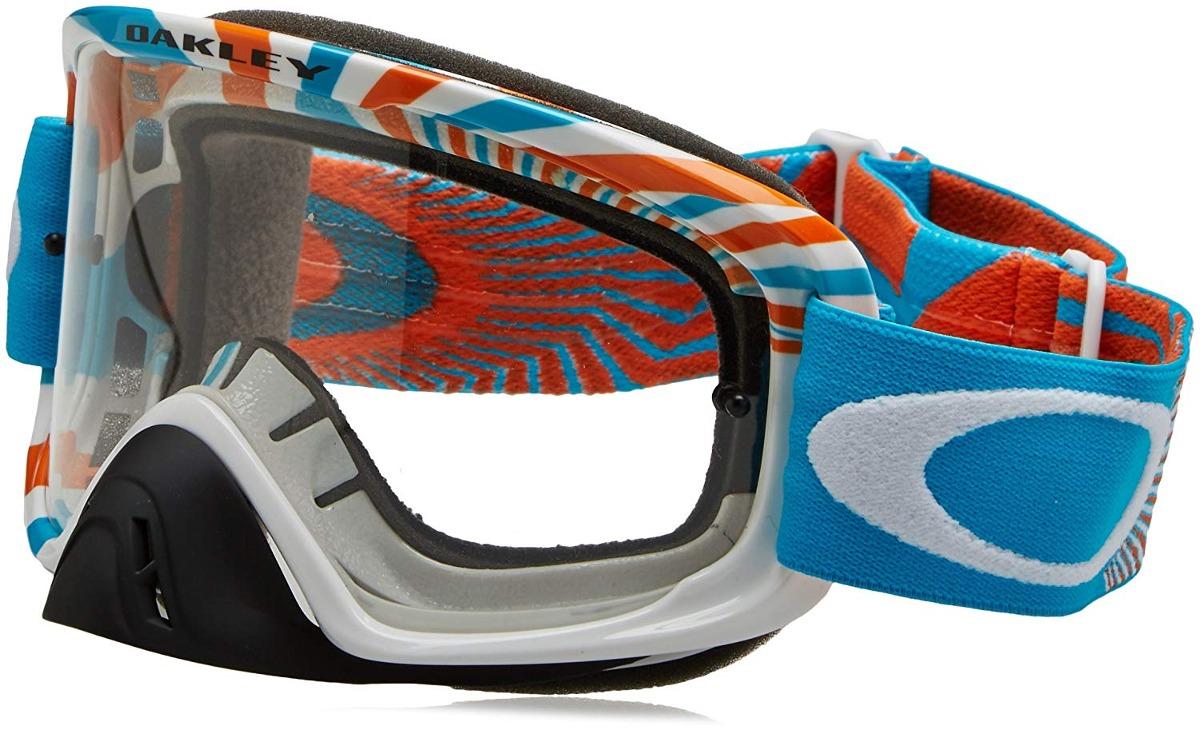 f1c60cc3df gafas oakley o2 mx para hombre (montura azul naranja rpm / l. Cargando zoom.