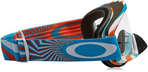 3fb422ddb1 Gafas Oakley O2 Mx Para Hombre (montura Azul Naranja Rpm / L ...