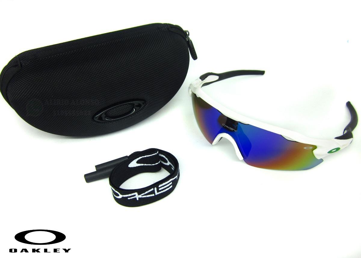 a37b4c5892 Gafas Oakley Radar Blancas Deportivas Ciclismo - $ 35.000 en Mercado ...