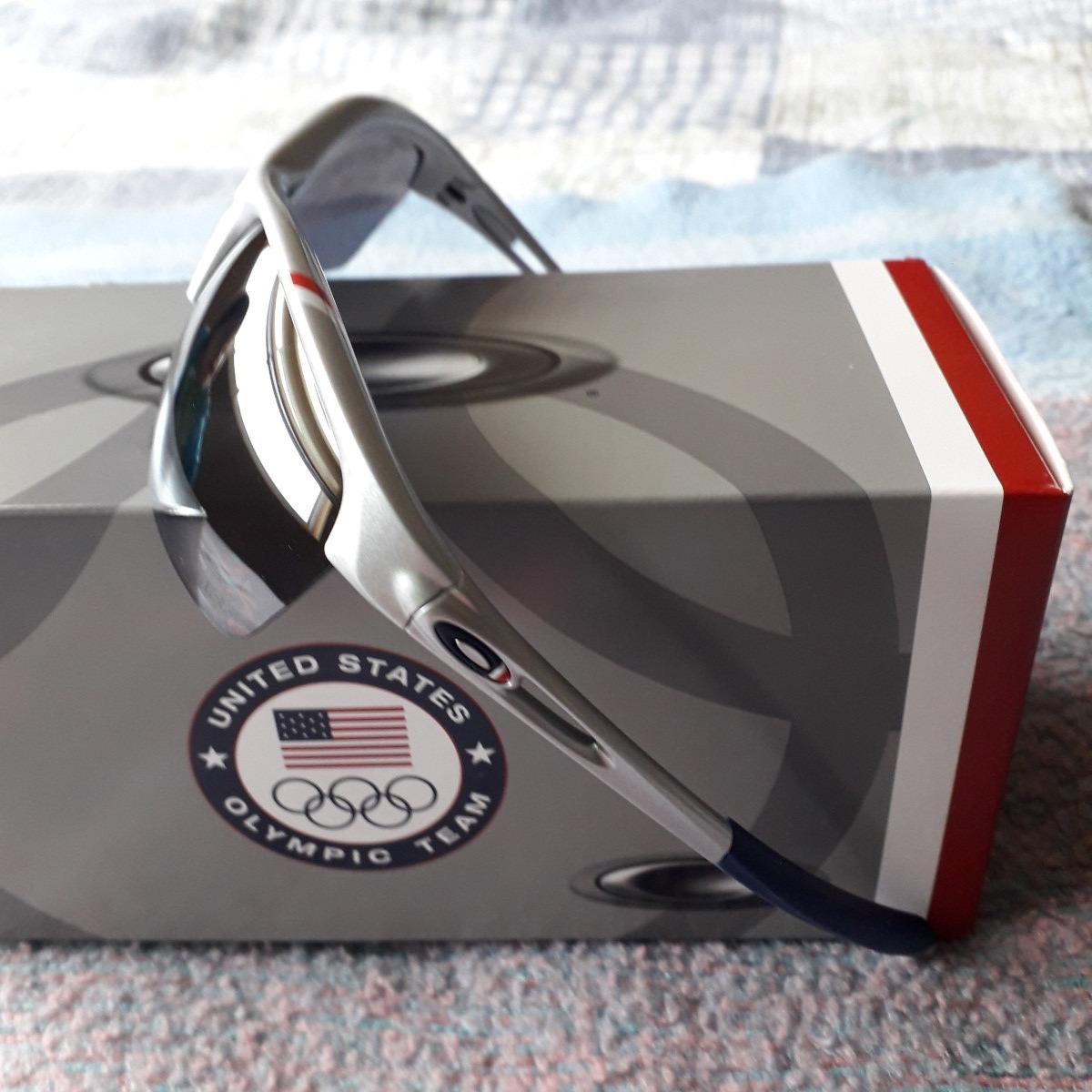 23c2a26c06 gafas oakley rpm unisex marco plata lentes negros deportivas. Cargando zoom.