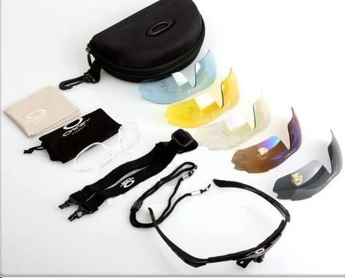 gafas oakley set 5 lentes dormulados deporte