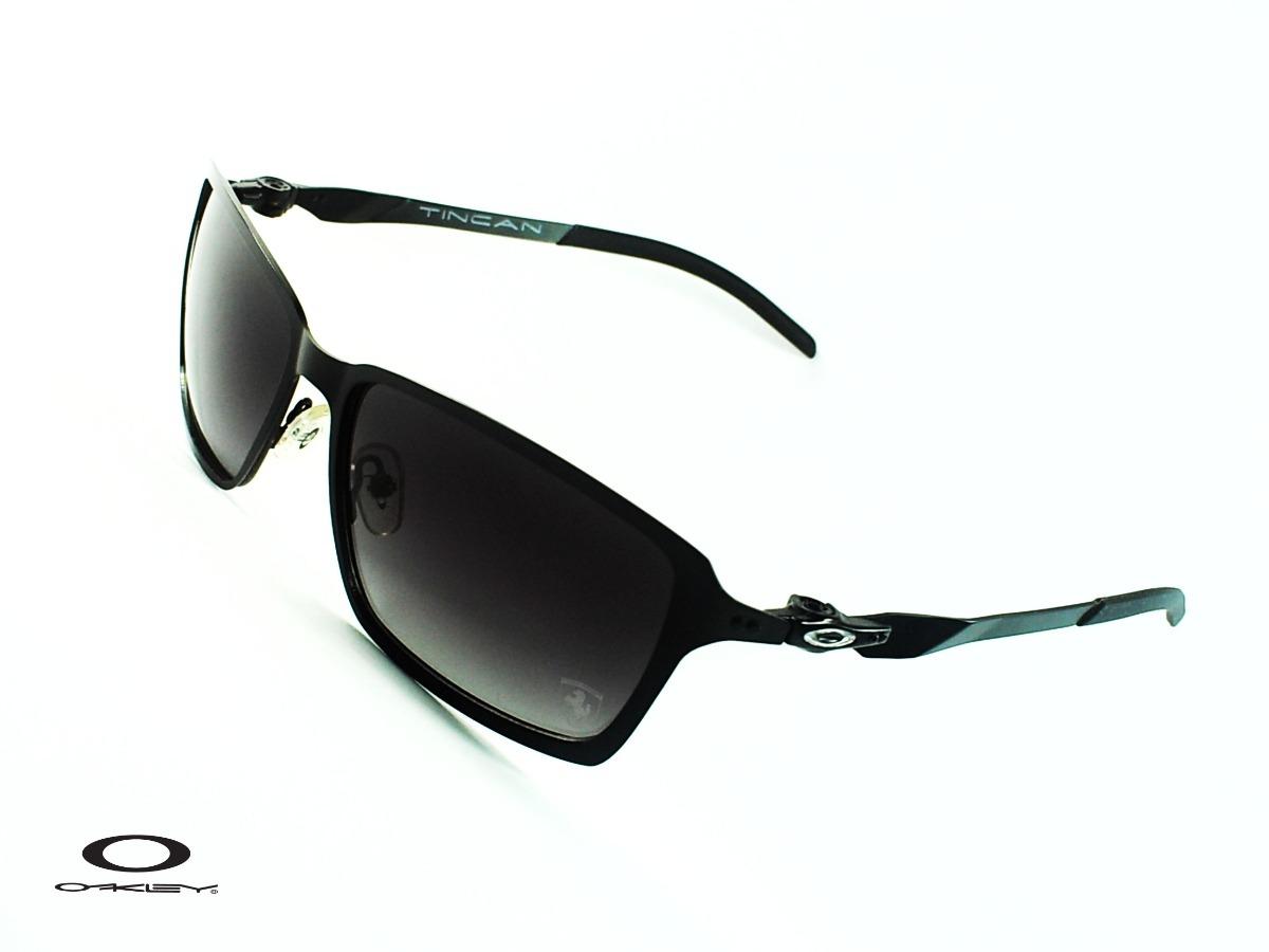 543bfe5b8b9 Gafas Oakley® Tincan Black Ferrari Silver Logo Specia Av0101 ...