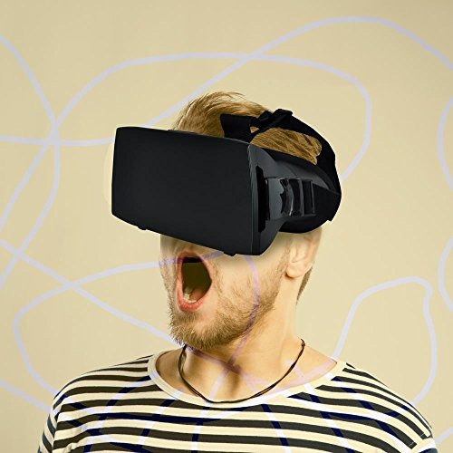 gafas para auriculares pyle plv3d15 universales 3d vr, gafas