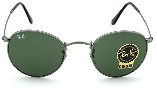 Gafas Para Hombre Ray ban Rb3447 Round Metal Matte c60125de7cd81