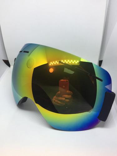 gafas para la nieve, esquí, snowboard, deportes.