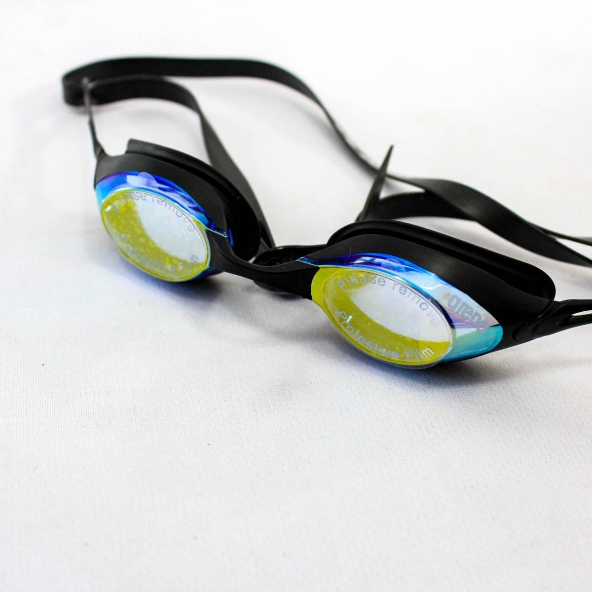57ae689a61d7 Gafas Para Natación Arena Racing Cobra Mirror Negro
