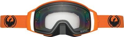 gafas p/nieve dragon nfx2 sólidas s/marco lente transparente