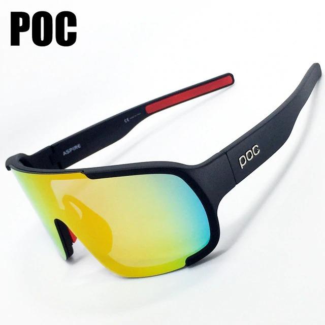 una gran variedad de modelos precios increibles fecha de lanzamiento Gafas Poc Ciclismo 3 Lentes Uv Negras Policarbonato