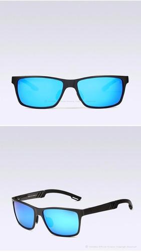 gafas polarizadas espejo uv400 57mm marco aluminio magnesio