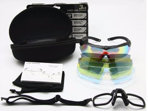 gafas polarizadas estilo militar, uv400, deportes, balistica