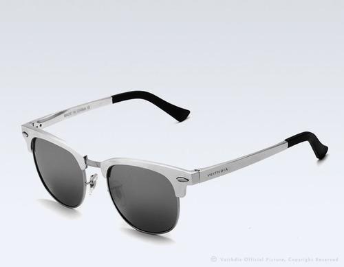 gafas polarizadas unisex marco aluminio magnesio retro 6690