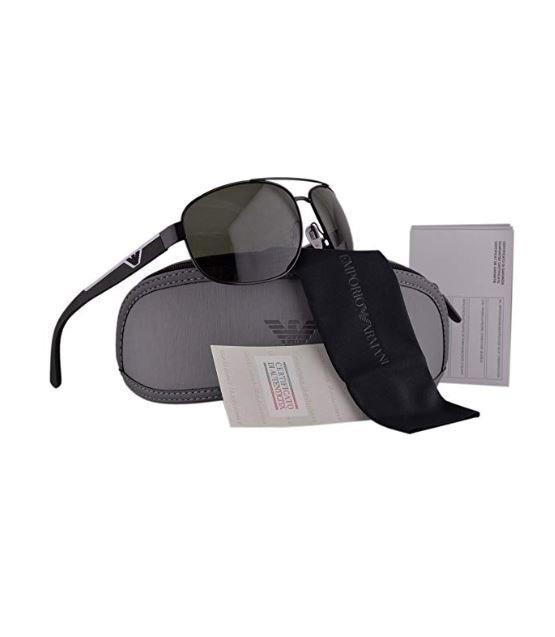 Emporio Ea2036 Gafas Sol Negroplat Polarizado Armani Lentes Ygyvbf76