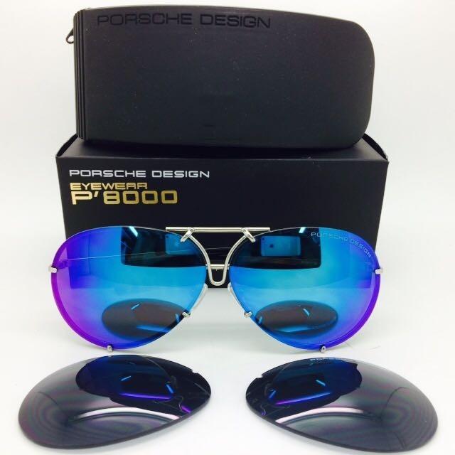 0dddb8ed5b8 Gafas Porsche 23 Lente Intercambiable Colors Envio Gratis ...