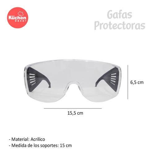 gafas protectoras de seguridad acrilico