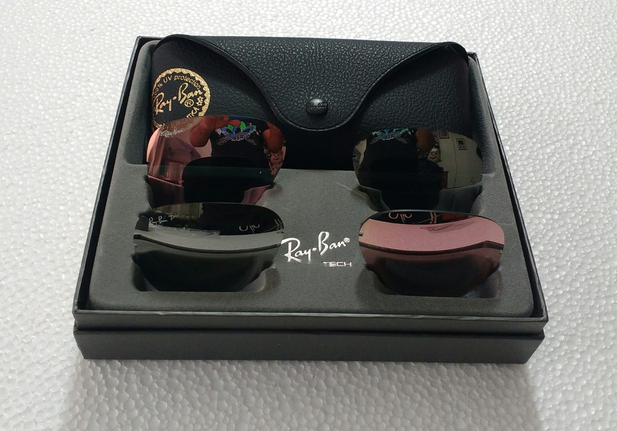 ray ban lentes intercambiables