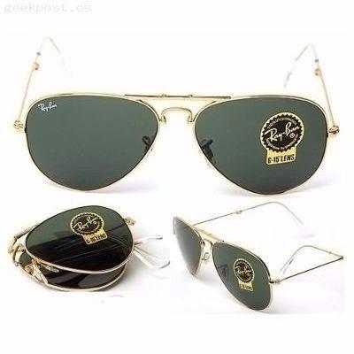gafas ray ban aviator mercado libre
