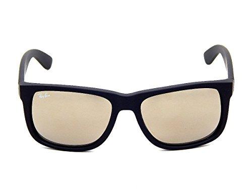 98086a5df9ec9 Gafas Para Hombre New Ray Ban Justin Rb4165 622 5a Rubber ...