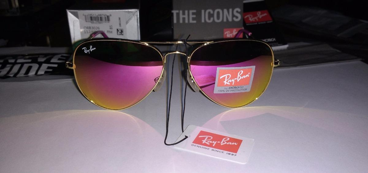gafas ray ban aviator de espejo