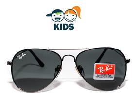 15e7dcce5d Gafas Ray Ban Aviador De Niño Negras - Unisex - Envio Gratis