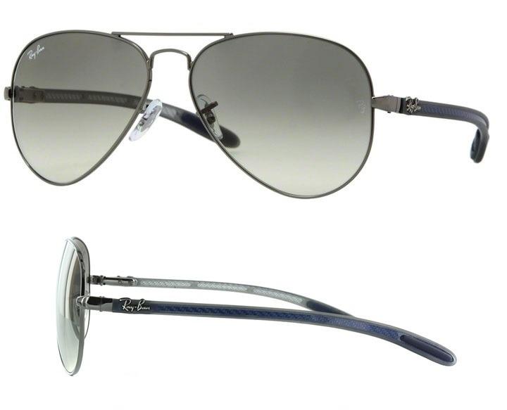 5393e8d72c Gafas Ray Ban Aviador Tech Negro Gris Deg. Italy. Originales ...