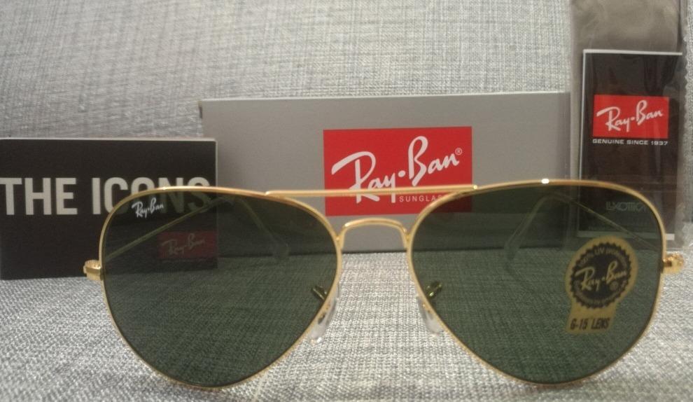 53a7275a39 Gafas Ray Ban Aviator Rb3025 L0205 Originales - $ 175.000 en Mercado ...