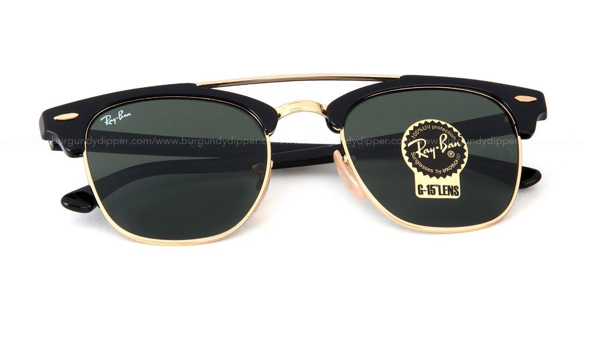 78ece5b683123 gafas ray ban clubmaster con puente italy original promocion. Cargando zoom.