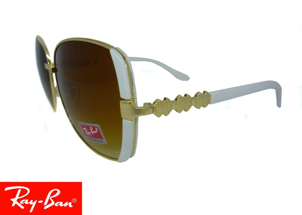 gafas ray ban blancas