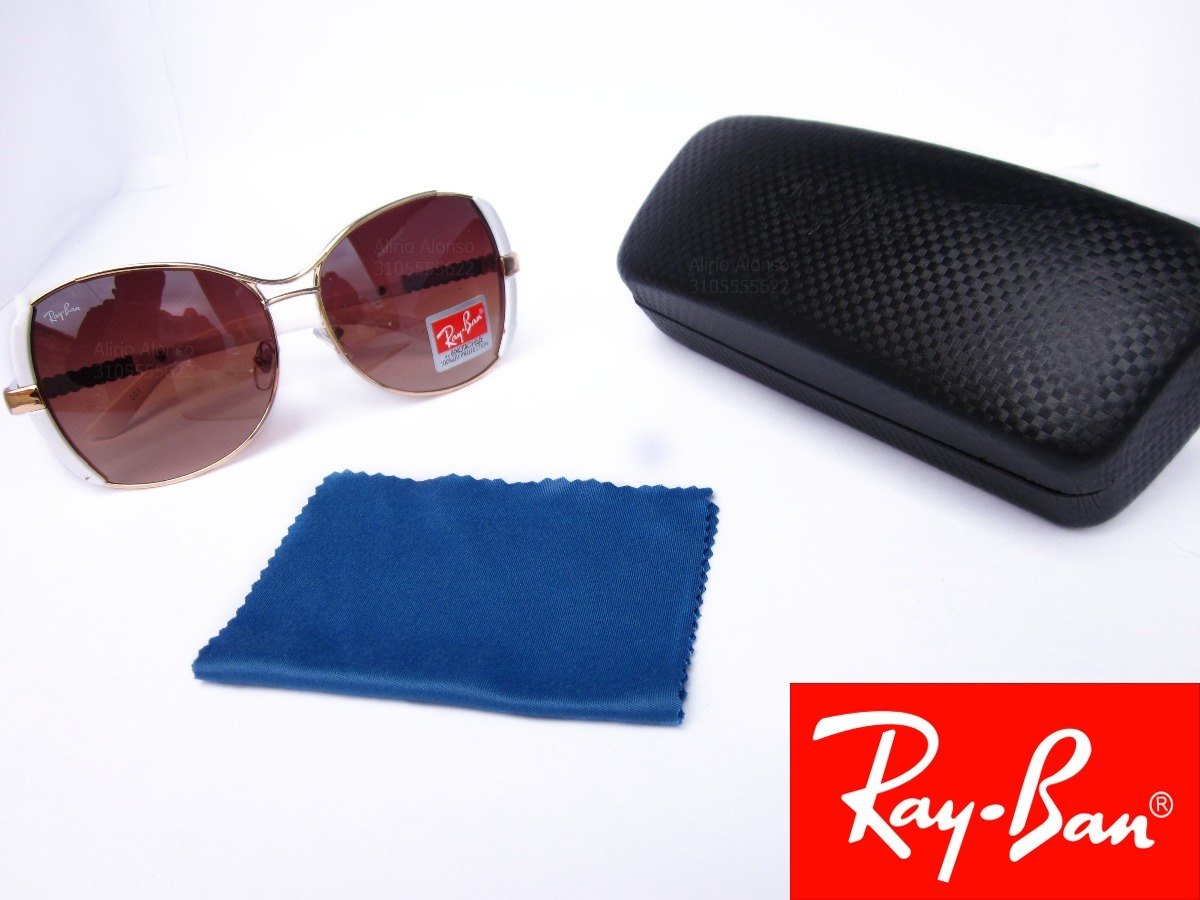 gafas ray ban blancas de mujer