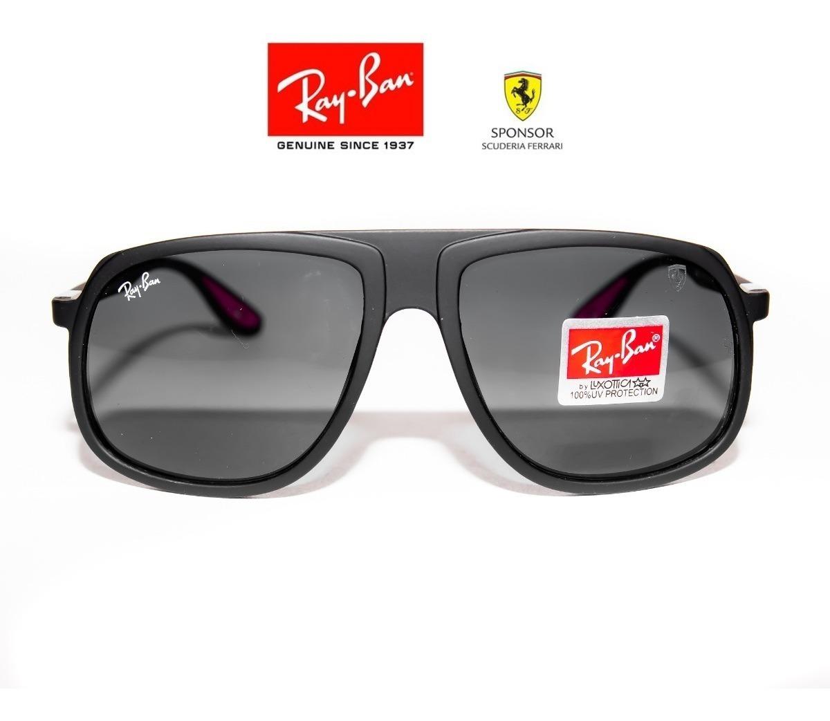 fbfd218eff Gafas Ray Ban Ferrari 4308 Negra - Unisex - Envio Gratis - $ 89.900 ...