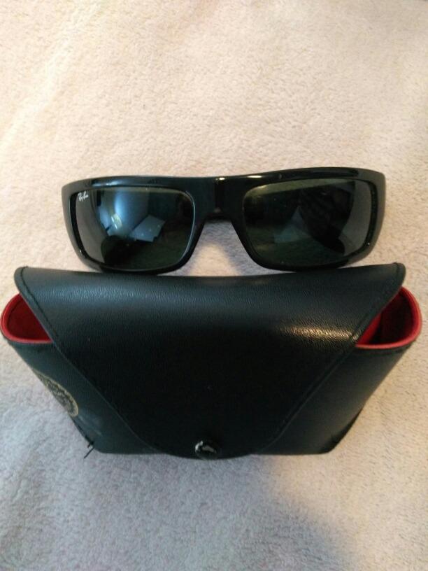 264f6ee5c32a3 gafas ray-ban genuinos con funda. Cargando zoom.