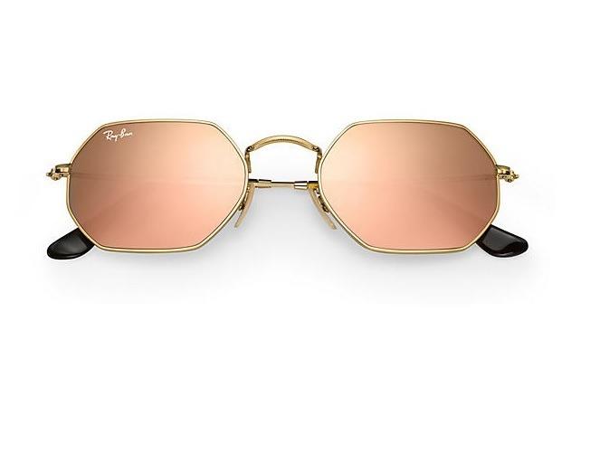 eab99417a3873 Gafas Ray Ban Octogonal Rosa Espejado Italy Promo 6 Cuotas ...