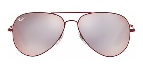 gafas ray-ban piloto rojo 3558 9017/b5 58 original