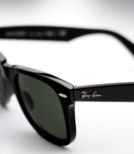 gafas ray-ban rb 2140 wayfarer folding  clasicas originales