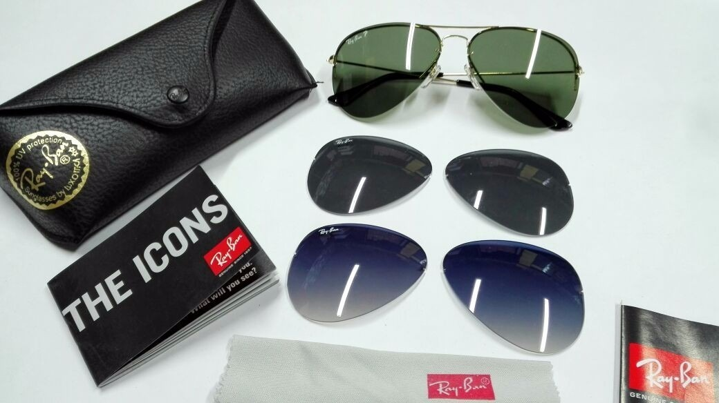 gafas ray ban intercambiables