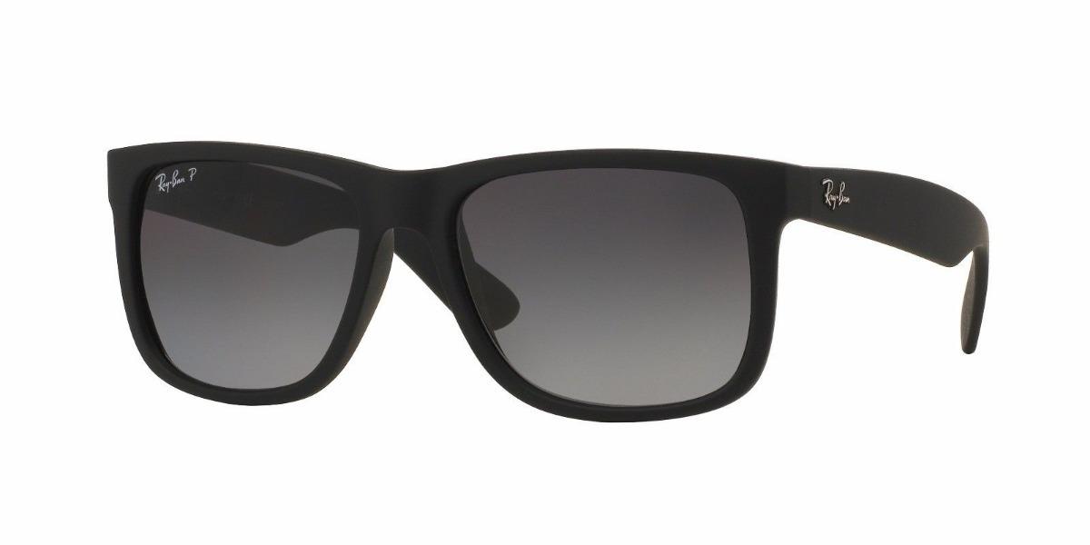 Gafas Ray Ban Rb4165 Justin Clásico Negro Polarizado -   999.99 en ... 0edd352627