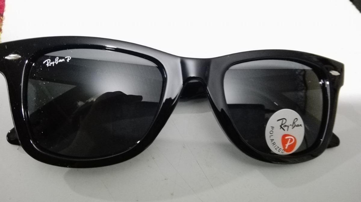 018c825cea Gafas Ray Ban Wayfarer Polarizadas Rb2140-901 - $ 26.000 en Mercado ...