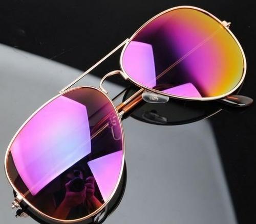 gafas rayban aviador 3025 rosadas