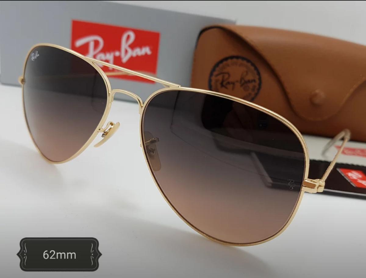 4b87000c5e gafas rayban piloto 62mm marco dorado lente negro viso. Cargando zoom.