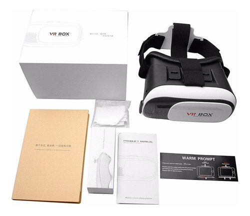 gafas realidad virtual 3d 2.0  vr box + control