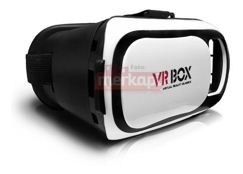 gafas realidad virtual 3d vr box + control remoto bluetooth