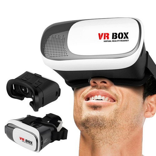 gafas realidad virtual 3d vr box juegos videos celulares